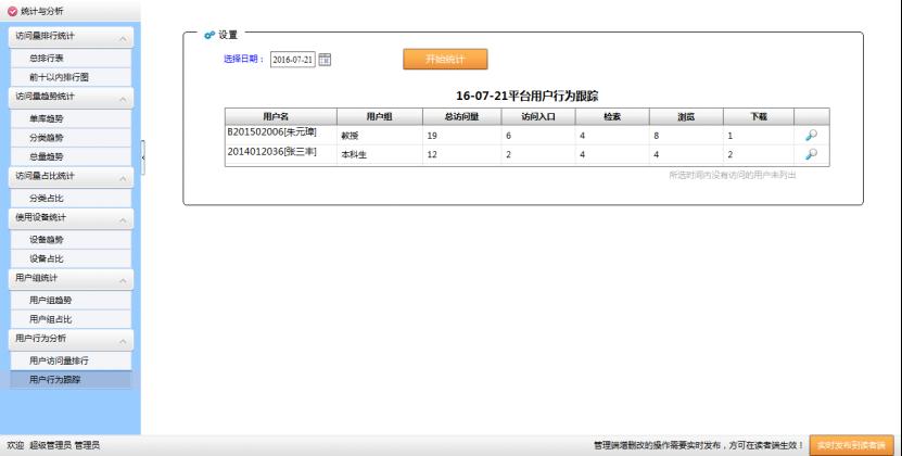 电子资源统计分析系统